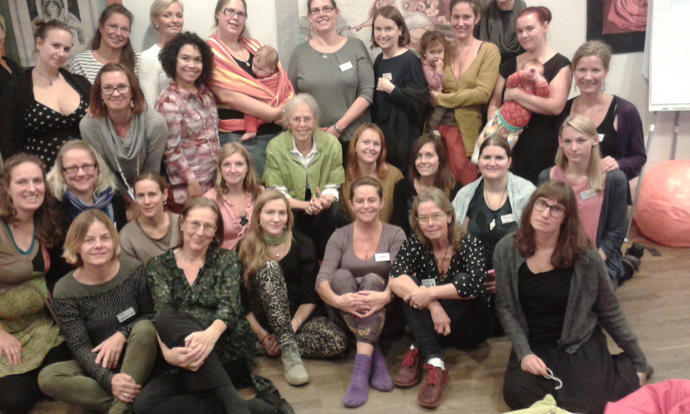 Doulaworkshop med Ina May Gaskin